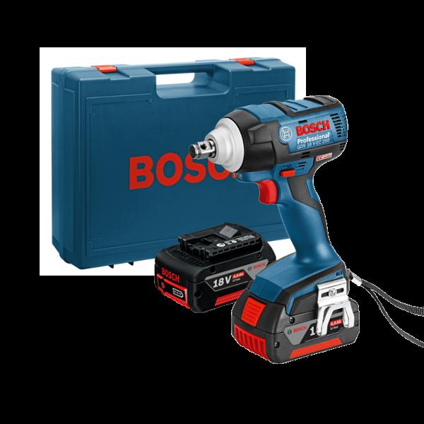 Imagen para Atornillador de impacto a batería GDS 18 V-EC 250 de boschmx