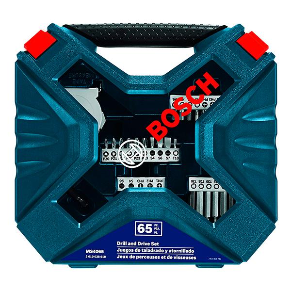 Imagen para Set X-line para taladrar y atornillar azul  65 pz. de boschmx