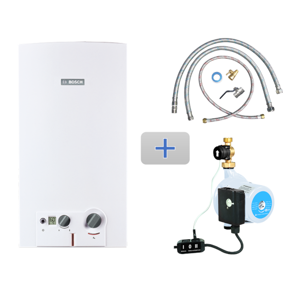 Imagen para Kit MiniMAXX 16 gas LP 3 servicios + Mangueras de conexión / Bomba + Conexión básica de boschmx