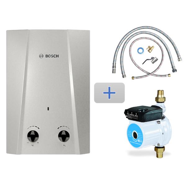 Imagen para Kit Easy 5L gas natural 1 servicio + Mangueras de conexión / Bomba + Conexión básica de boschmx