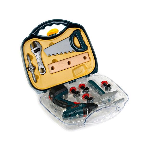 Imagen para Maletín con atornillador de juguete Bosch y accesorios de boschmx